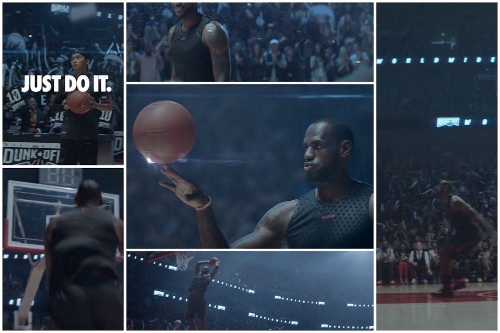 huge selection of 43c57 886c3 Video LeBron James Stars in 8220Just Do It 8211 Possibilities8221 ·  commercialjust ...