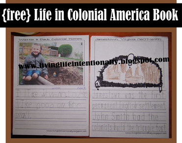 Jamestown Settlement - free history worksheets