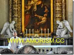 DSC01472.JPG Sankta Clara kyrka gudstjänst präst Iwan Giertz (1) med amorism