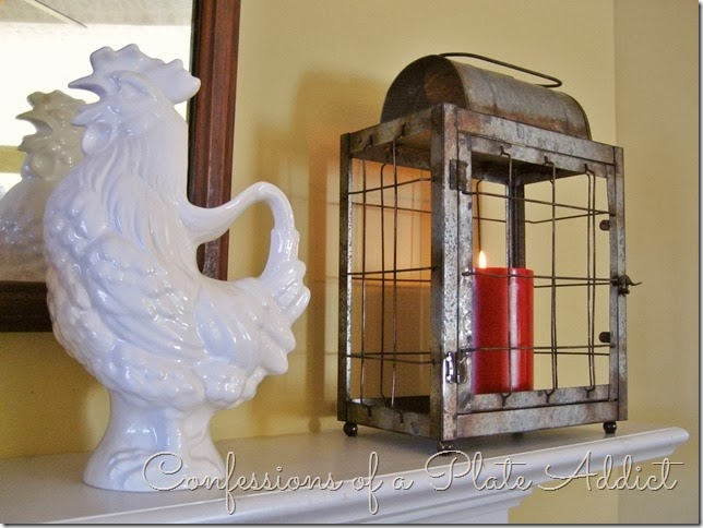 CONFESSIONS OF A PLATE ADDICT Farmhouse Valentine Mantel