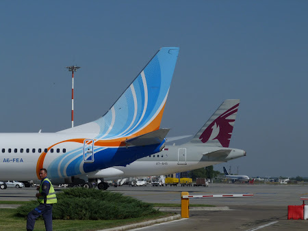 Fly Dubai si Qatar Airways la Bucuresti