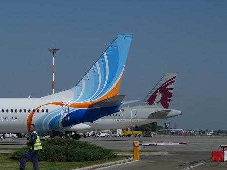 Fly Dubai si Qatar Airways la Bucuresti