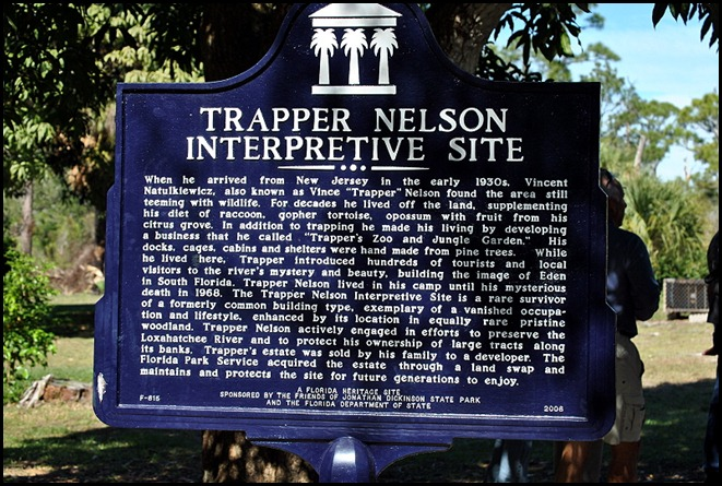 19 - Trapper Nelson Interpretive Center Sign