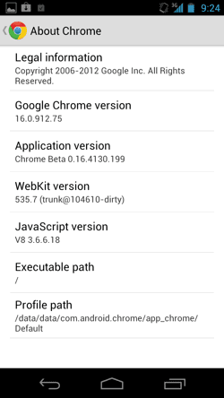Chrome Beta Android 4-10