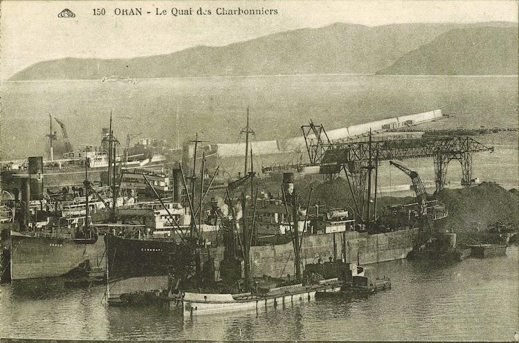 Vapor CAMERATA. Simon-Bang-collection-ORAN-postcard. Foto cortesia de la web Coasters and Others Ships Revived..jpg