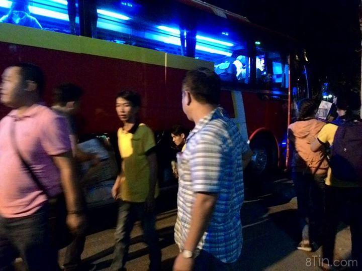 1h30 sáng 27/12/2015, các bạn thành viên Đồng Cảm đã lên đường