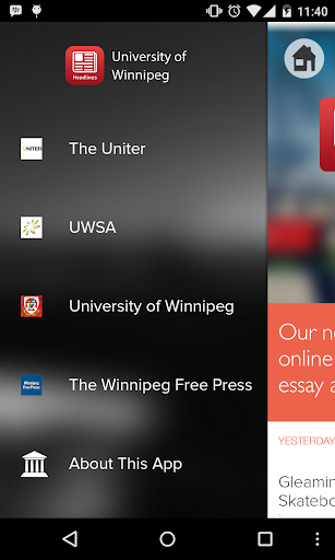 Headlines - U of Winnipeg