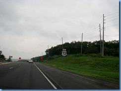 8532 US- 72 East, Trail of Tears Corridor, Alabama - US-72 East sign
