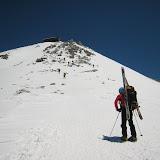 雄山への登り開始(11:45)