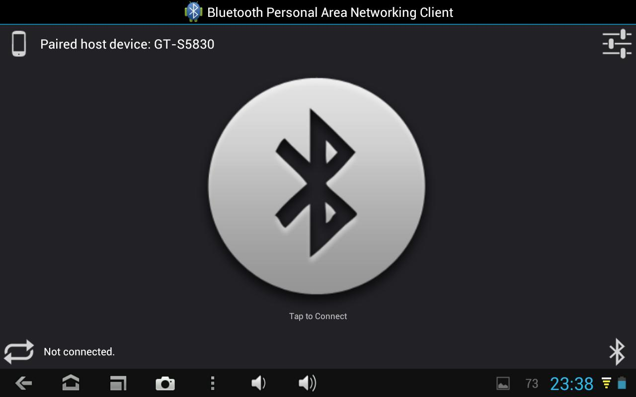 Bluetooth PAN for Root Users - screenshot