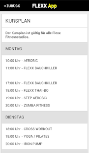 How to play Flexx Fitness for blackberry