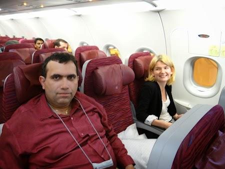 14. Qatar Airways economy class.JPG