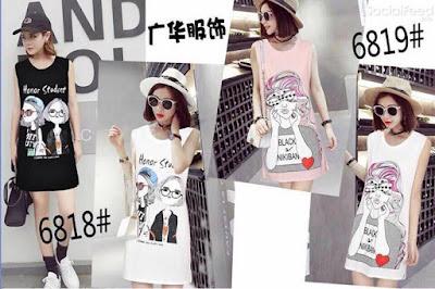 Váy siêu chất cho mùa hè nhaaa đủ 4 màu trắng đen hồng ghi các nàng nhé
