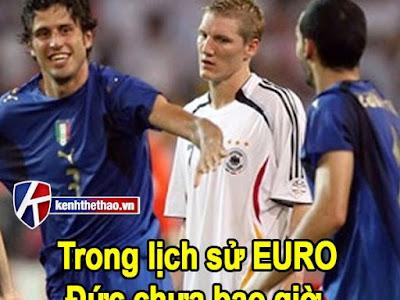 Có thể bạn chưa biết Đức cứ gặp Ý là thua :'