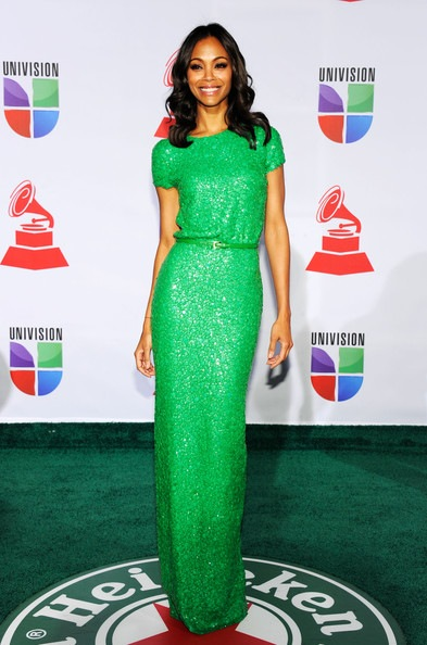 Zoe Saldana 12th Annual Latin GRAMMY Awards