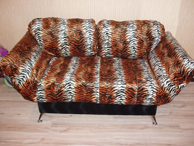 Мягкий диван клик-кляк Никко – Зоо Тигр
