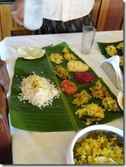 Kerala Banana Leaf Meal