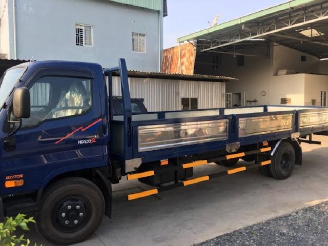 Xe đô thành HD120sl 8 tấn thùng lửng