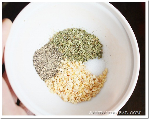 Garlic & Herb Spice Mix