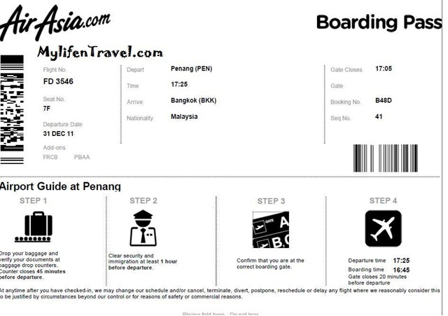 Airasia how to online Check in 8