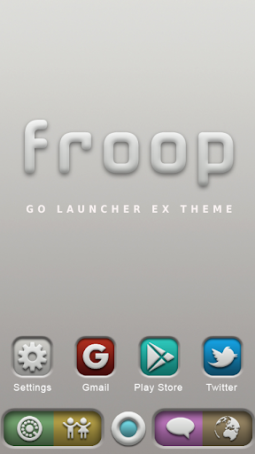 Froop GO Launcher Ex Theme