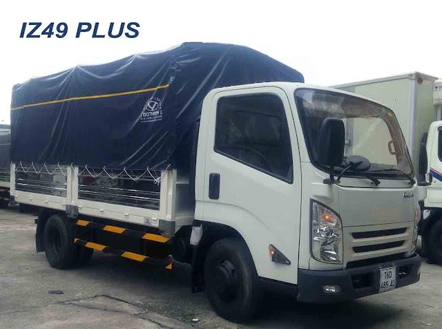 Xe tải IZ65 Đô Thành 2.5 tấn thùng mui bạt