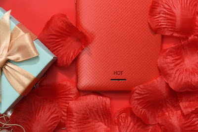 InfinixHOT4Lite Scarlet Red so HOT Colorful 3D Texture Encapsulate youthfulness beauty and