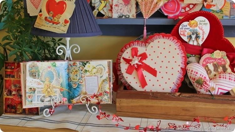Vintage Valentine Display 5