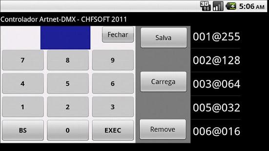 Artnet DMX Controller (FULL)- screenshot thumbnail