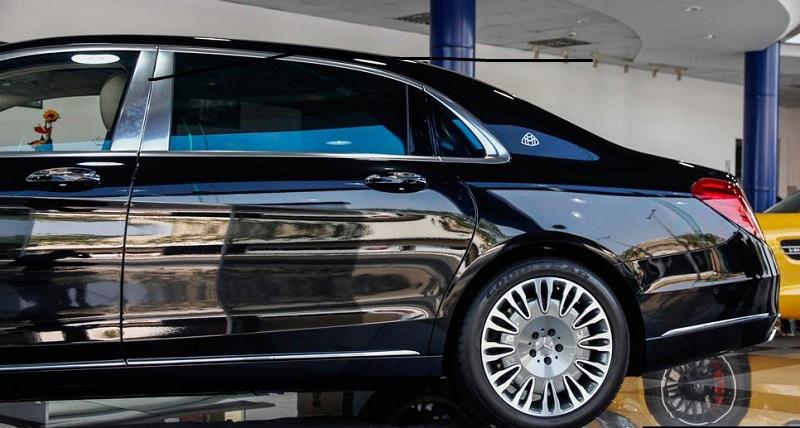 Xe Mercedes Benz S600 MAYBACH màu đen 05