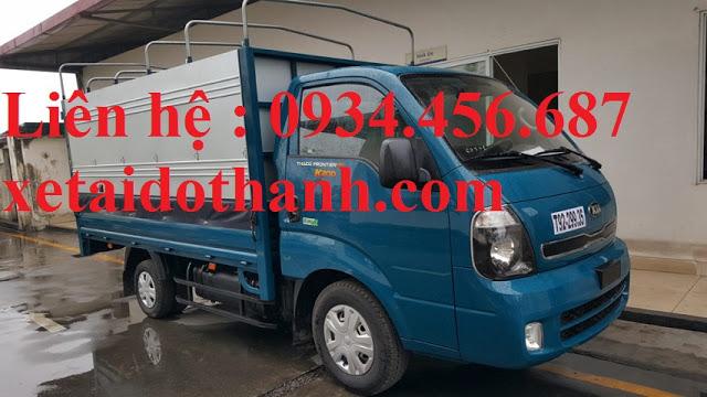 Giá xe Kia K200 thùng bạt lăn bánh