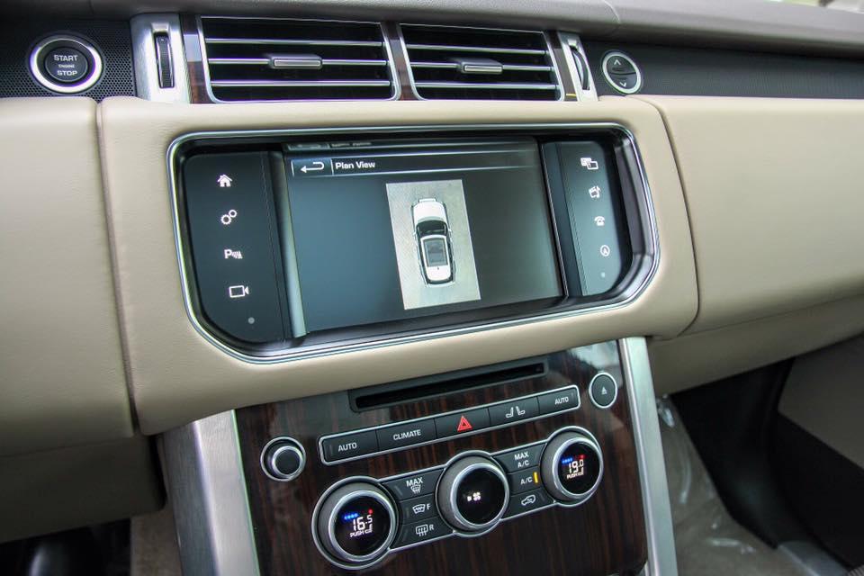 Nội thất xe Range Rover Vogue 011