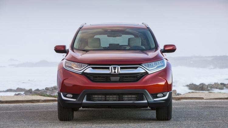 Đánh giá xe Honda CR V 2017 04