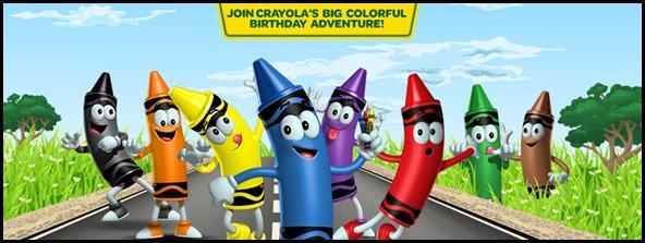 Crayola's Birthday Adventure