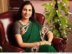 Chanda Kocchar Indian Woman Entrepreneur