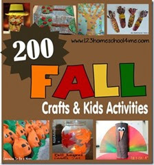 200 fall crafts & kids activiites