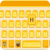 Honey Theme for Emoji Keyboard