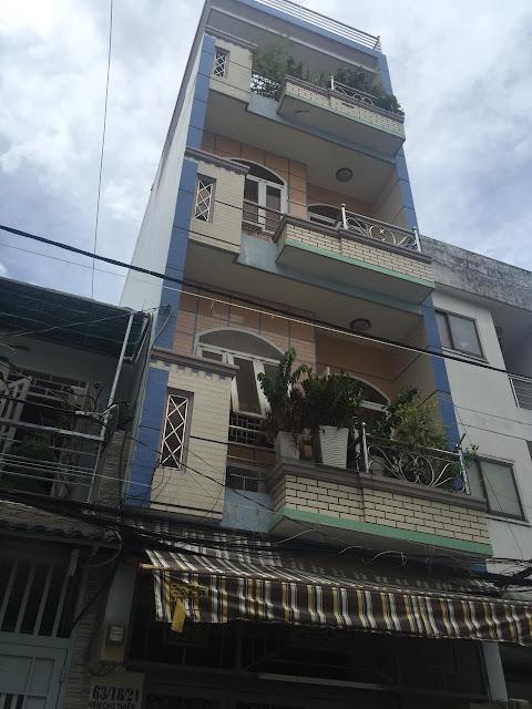 Bán nhà quận Tân Phú - Nhà 1 trệt 2 lầu ngay chợ Cây Keo 01