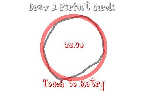 Draw A Perfect Circle+