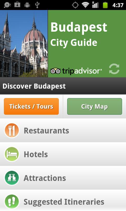 Budapest City Guide screenshot #1
