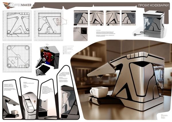 咖啡機設計