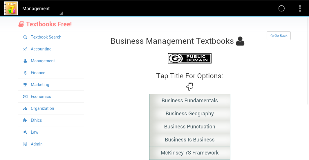 Learn Business Education Free- screenshot