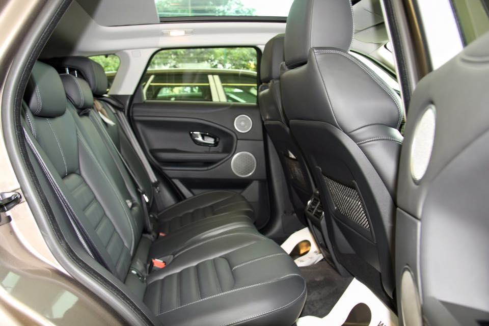 Nội thất xe Range Rover Evoque 04
