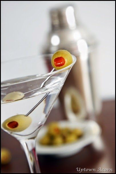 Vodka Martini Still Life
