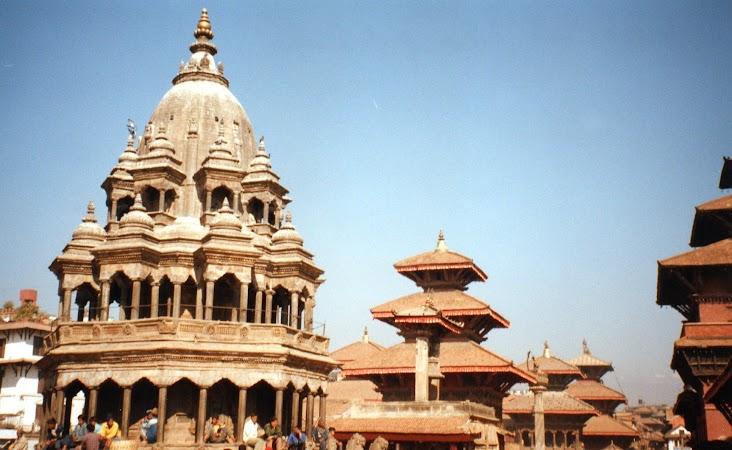 Obiective turistice Nepal: Patan Durbar Square.jpg