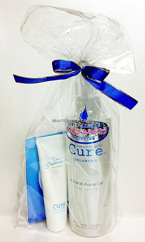 Cure Natural Aqua Gel Cure Water Treatment Skin Cream