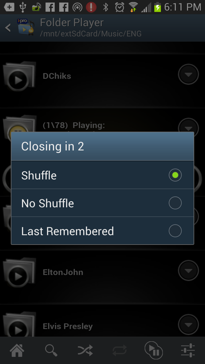 Folder Player Pro Screenshot 1