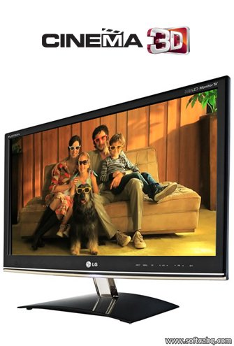 TV Monitor LG cinema 3D DM2350D