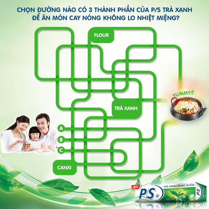 Chỉ cần tìm được 3 thành phần Flour, Can Xi và Trà