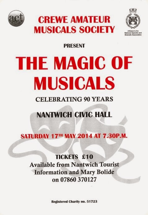 The Magic of Musicals - Sat 17-5-14 - poster